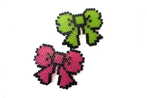 Pixel Bow Barrette – Dirty Lola's