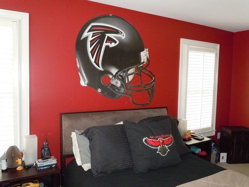 17 Best Images About Wwe Bedroom Ideas On Pinterest: 17 Best Atlanta Falcons Room & (wo)Man Caves Images On