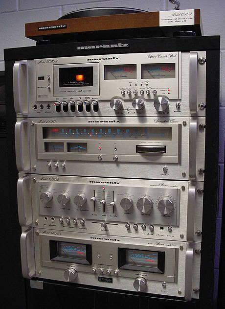 vintage marantz vintage stereo equipment pinterest. Black Bedroom Furniture Sets. Home Design Ideas