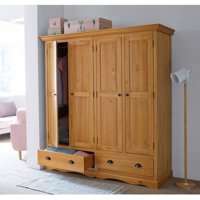 great armoire portes authentic style la redoute interieurs prix promo armoire la redoute uac. Black Bedroom Furniture Sets. Home Design Ideas