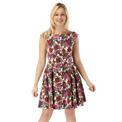 Joe Browns Multi Coloured Sugar Loaf Mountain Dress