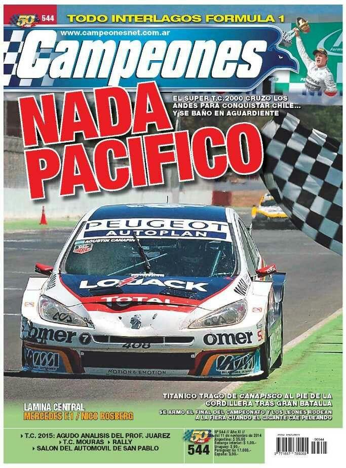 Revista Campeones.