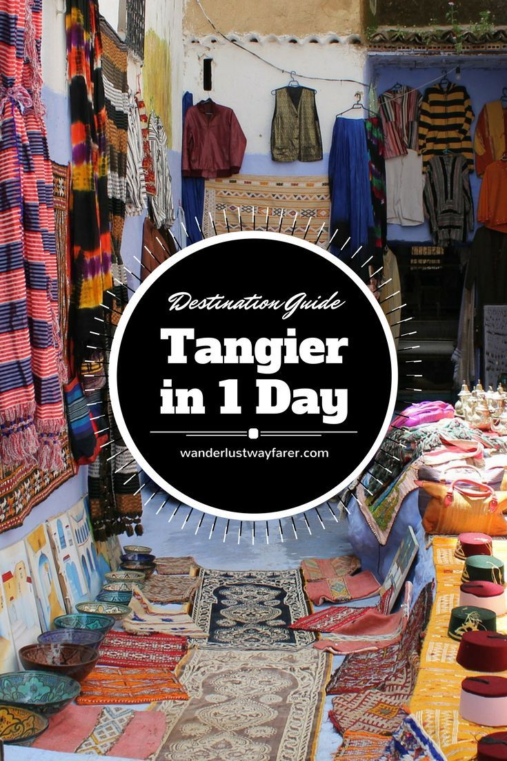 See all the major sites of Tangier in a few hours--great for people on a cruise