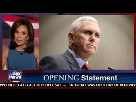 Judge Jeanine Pirro FULL Opening Statement Mike Pence Hamilton Attack - ...