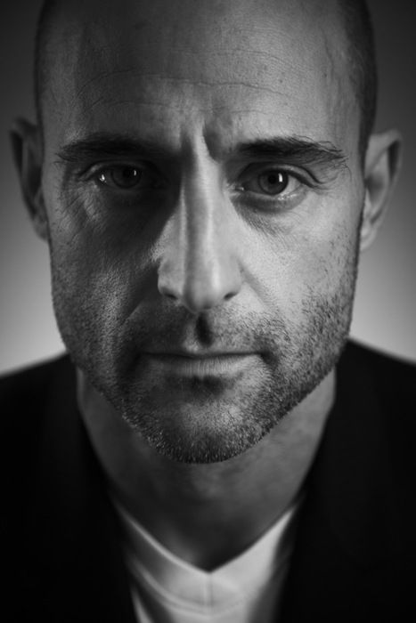 Mark Strong....enigmatic.incredibly cool voice.....tall......quite hot