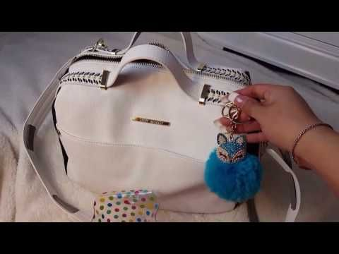 Switching Purses Kate Spade Tote to Steve Madden Satchel!2017 - YouTube