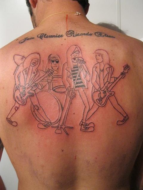 Ramones Tattoo