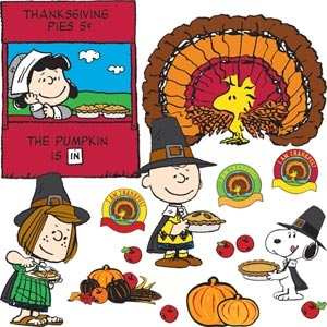 A Charlie Brown Thanksgiving Set