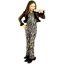 Childs Zebra Rock Star Costume (Size: Large 10-12) Tag a friend who would look good in this! #RockStar #Halloween #Costume