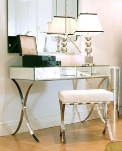 venetian interiors/images | Venetian Mirrored Furniture | Art Deco Mirrors | Venetian Mirrored ...