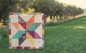 Giant Indie Star Quilt – Große DIY-Ideen   – HST Quilts