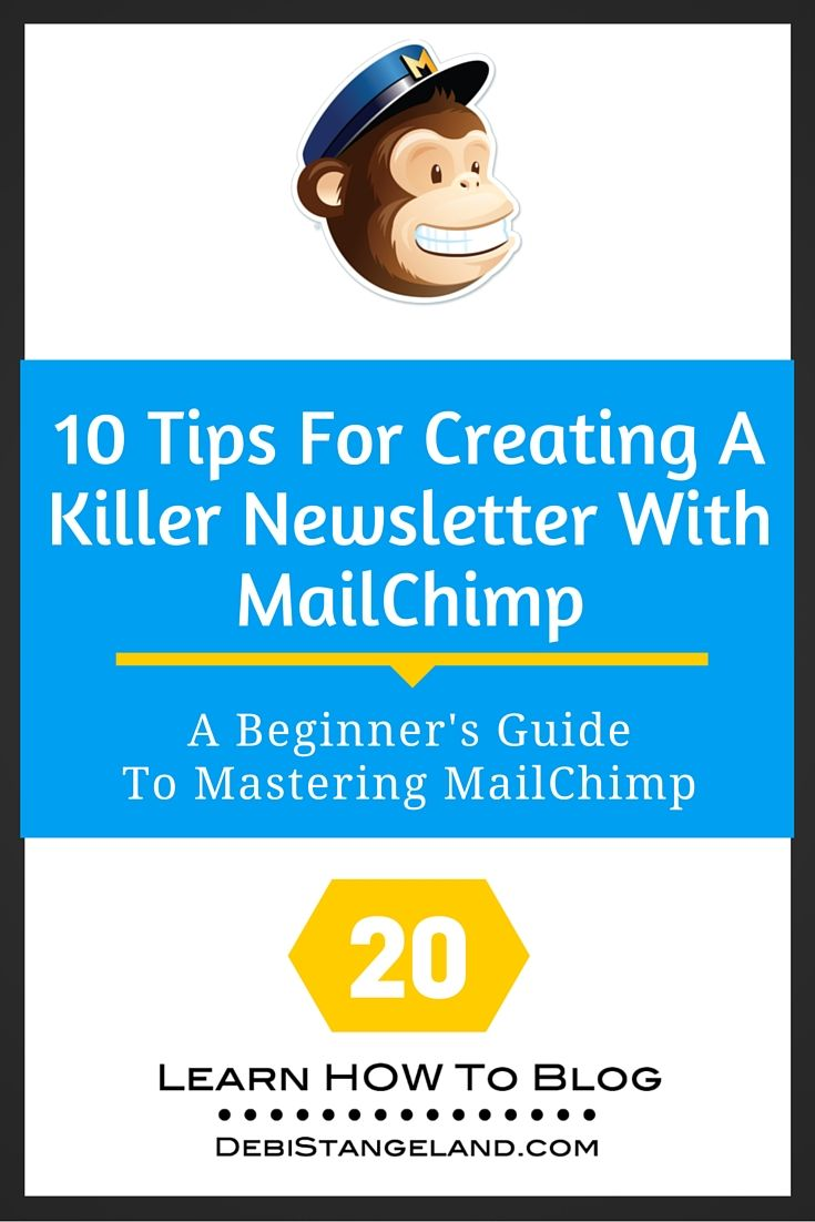 Sending a newsletter with MailChimp is easy if you prepare well, search out great content, and commit to being consistent. These ten tips will help you get started with a newsletter the right way. Serve your subscribers well, and they will reward you with loyalty. ★ Learn HOW To Blog ★