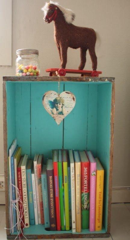 Diy:Librero/zapatero con cajas de madera | @Thaiisitha