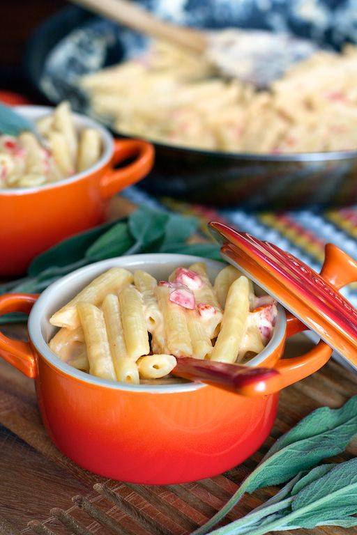 Pimiento Macaroni and Cheese, one of my Nashville favorites…now made at home. :)