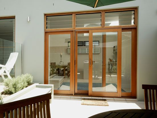 sliding glass doors timber - Google Search