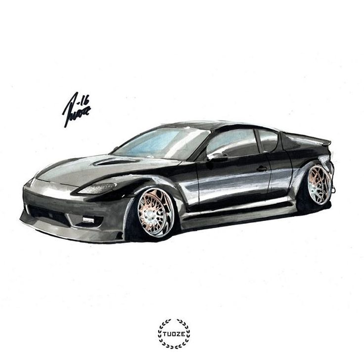 Mazda Rx8 marker painting