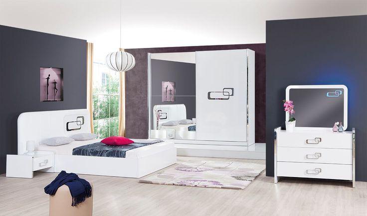 Спальный гарнитур Loptich (White)