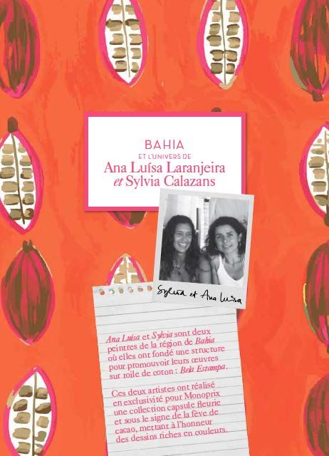 MONOPRIX     Brésil – Ana Luísa Laranjeira & Sylvia Calazans  •  Ma Sérendipité
