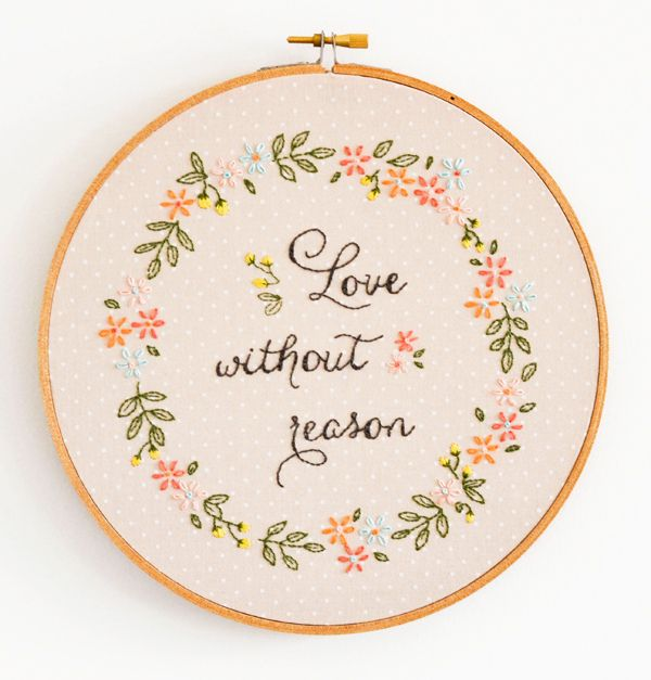 Love Without Reason pattern & tutorial