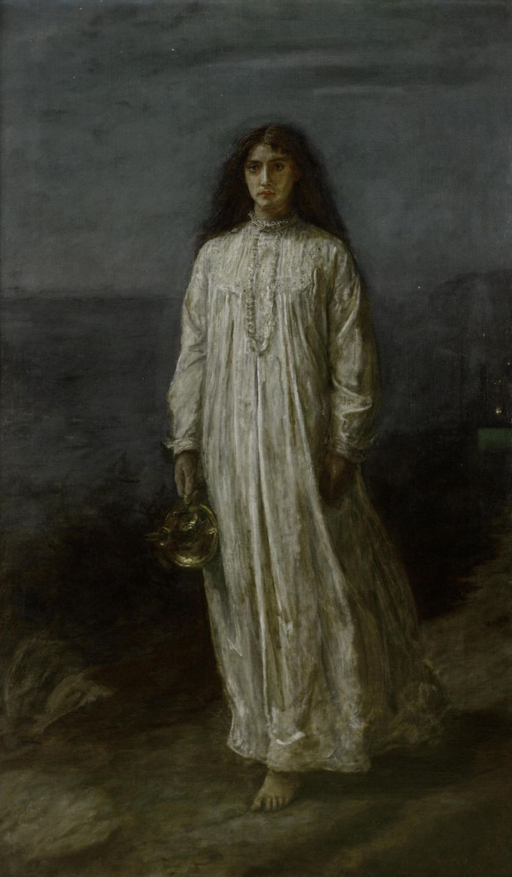 'The Somnambulist' (Sleepwalker) by John Everett Millais (1871)