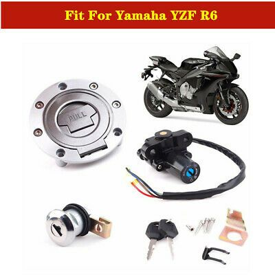Advertisement Ebay Fit For Yamaha Yzf R6 Electrical Ignition Switch Fuel Gas Cap Cover Lock Key Kit In 2020 Motorcycle Parts And Accessories Fuel Gas Yamaha Yzf R6