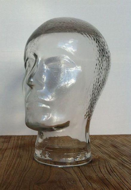 Online veilinghuis Catawiki: Glazen hoofd - Jaren 60/70
