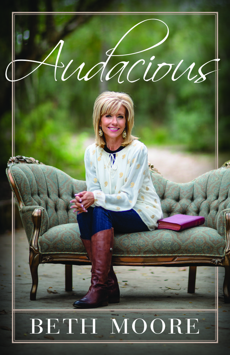 LifeWay Women All Access — Beth Moore's New Book & Simulcast Theme | Audacious