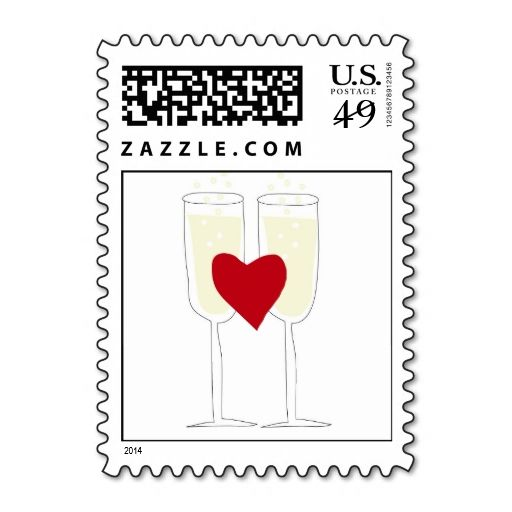 Best Save The Date Postage Stamps Images On