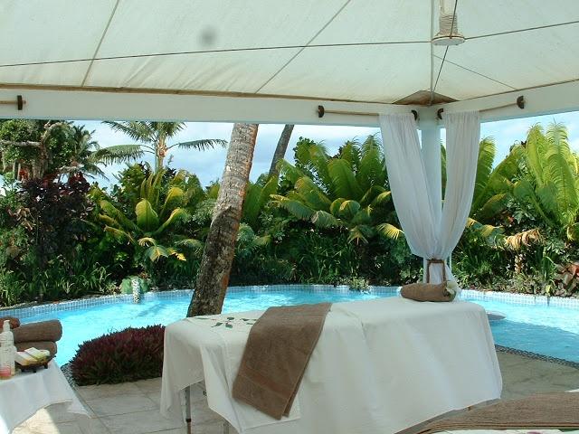 Fiji Hideaway Resort & Spa Beachfront Spa