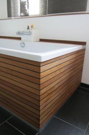 Badewannenverkleidung U0026 Waschtisch Mit Bootsparkett