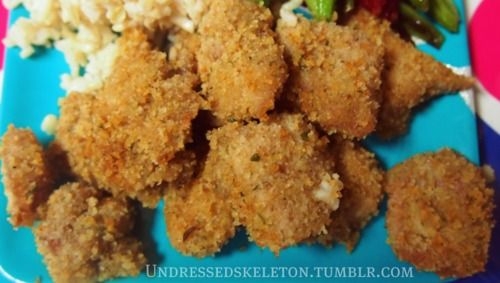 Healthy Baked Chicken Nuggets | Healthy Living | Pinterest