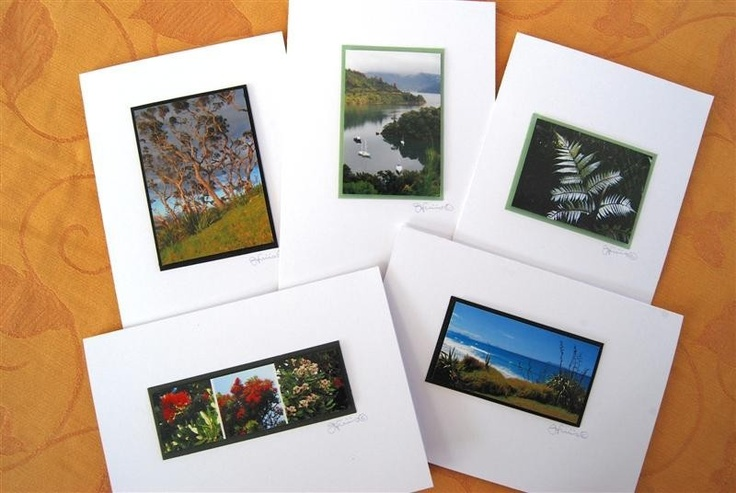 Photo Cards - Kiwi Collection New Zealand themed 3D x 5. $20.00, via Etsy.  Like the design!
