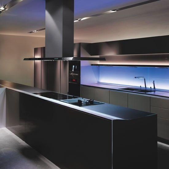iluminación dentro de muebles cocina - Buscar con Google