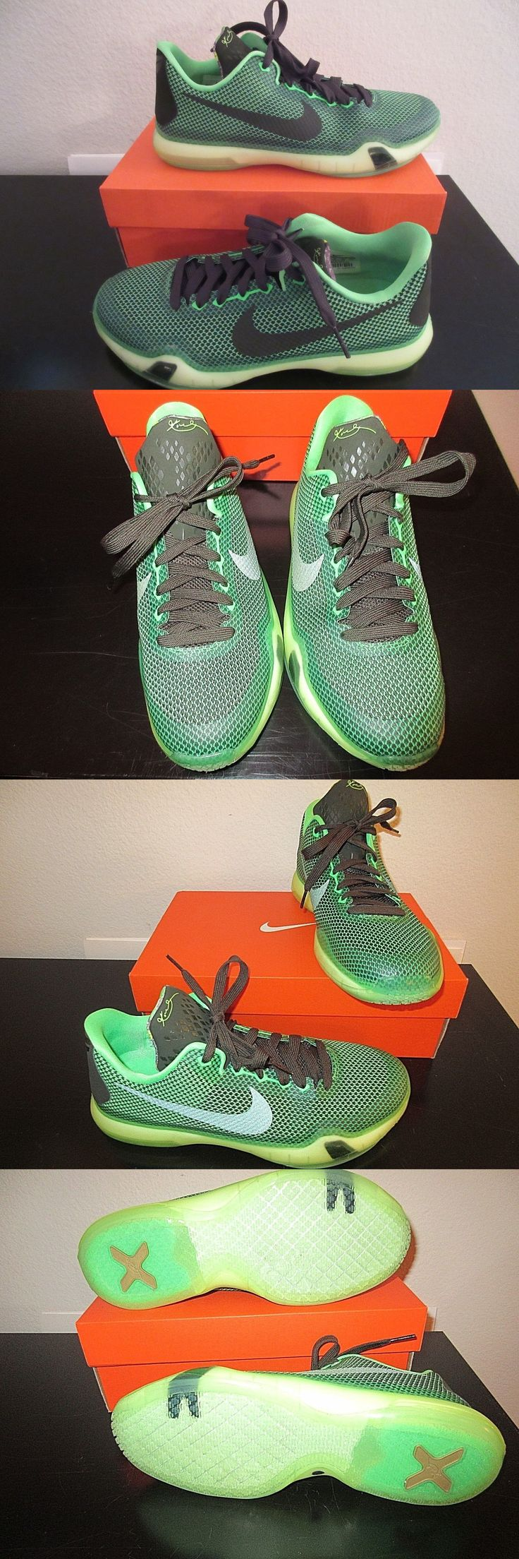 23aacd042d6044 ... shopping youth 158973 nike kobe x 10 vino gs basketball youth us 7 poison  green new