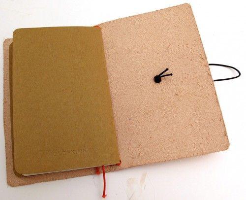 Diy Midori Style Field Notes Moleskine Cahier Leather