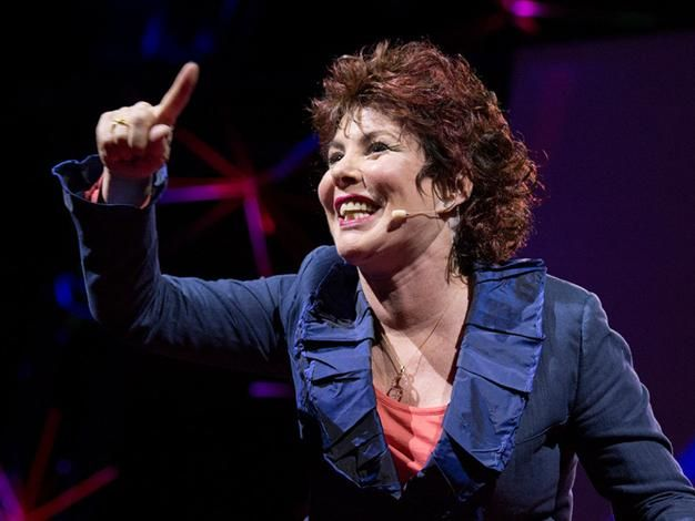Ruby Wax is an American born, naturalised British comedian.
