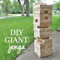 How to Make a Giant DIY Yard Jenga Game