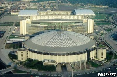 The Astrodome (Old Houston Astros Stadium)