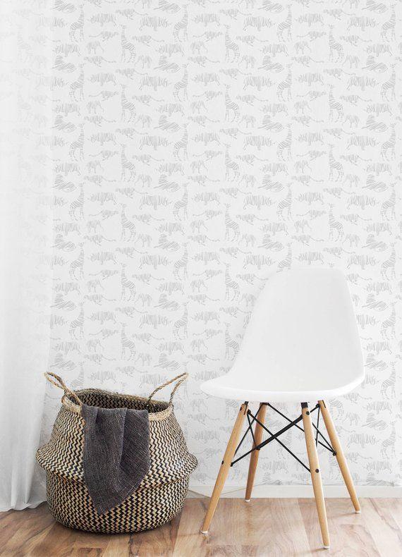 Gold Lines Chevron Wallpaper Off White Self Adhesive Fabric Etsy Chevron Wallpaper Wallpaper Off White Peel And Stick Wallpaper