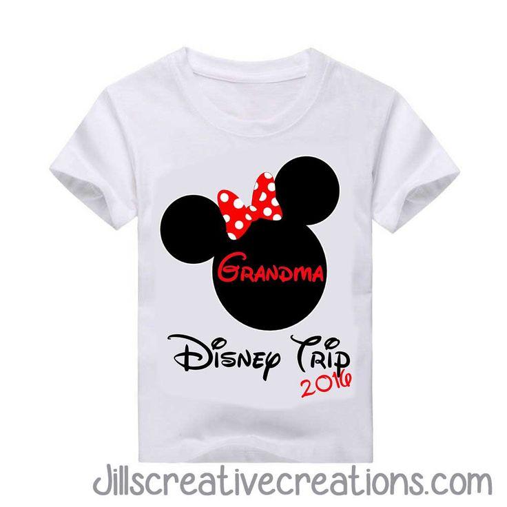 Disney Trip Family T-shirt