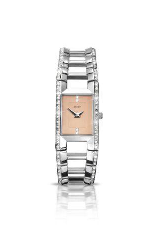 SEKSY Wrist Wear By SEKONDA - 4709.37 - Montre Femme - Quartz - Analogique - Bracelet Acier Inoxydable Argent