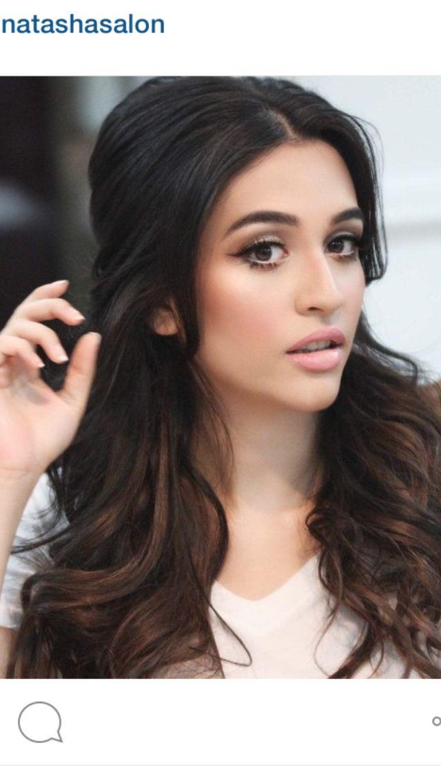25+ Best Ideas About Natasha Salon On Pinterest   Indian Wedding Hair Indian Wedding Hairstyles ...
