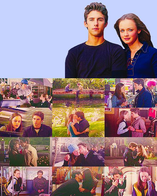 Rory and Jess. One of my favorite TV couples.