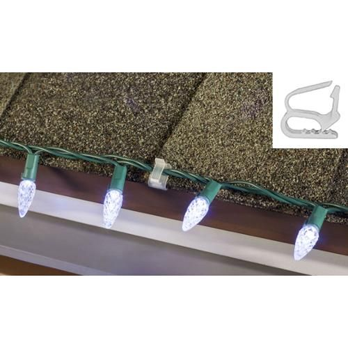 Commercial Grade Outdoor Icicle Lights: 15 Must-see Christmas Light Clips Pins
