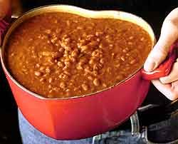 Dinosaur BBQ Beans - best beans EVER without question