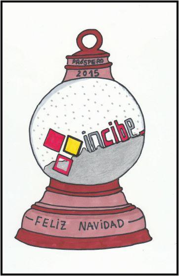 Boceto felicitación Navidad Bola de Nieve #doodle