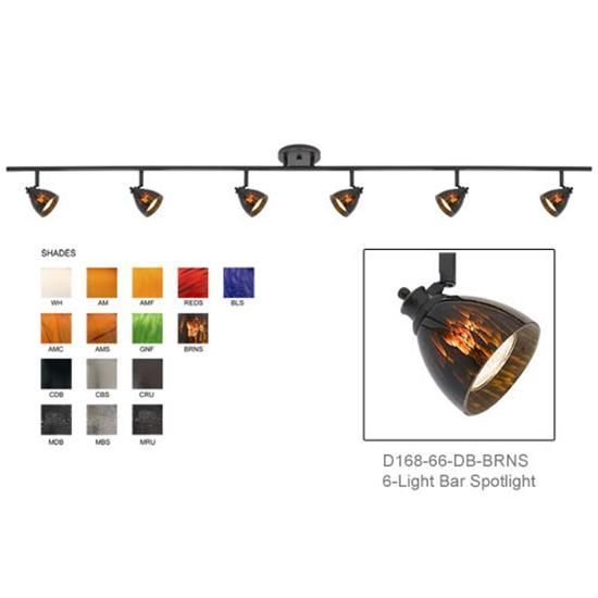 32 best dorothy master track lights purchase images on pinterest d168 66 shown with dark bronze finished with brown spot shades d168 66 aloadofball Image collections