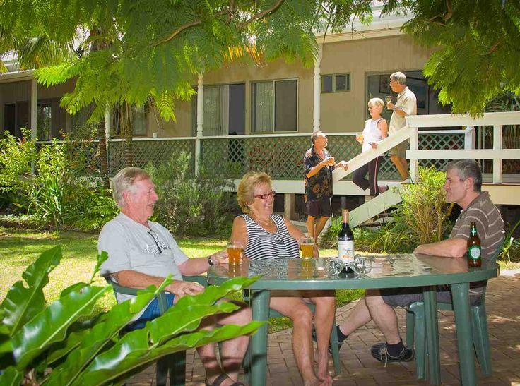 Spend lazy afternoons under the Jacaranda tree @beachcomber Lodge
