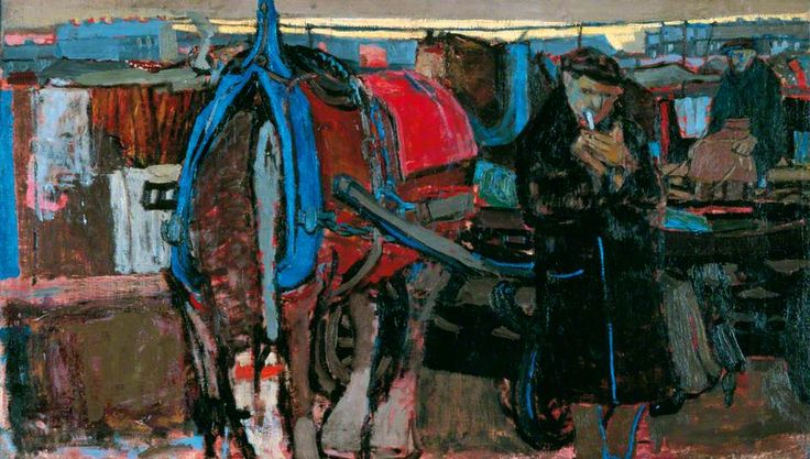 A Carter and His Horse -  by Joan Kathleen Harding Eardley