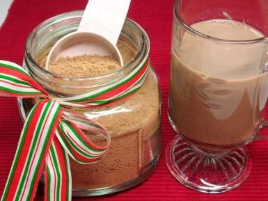 Polvo casero para chocolate caliente con sabor mexicano